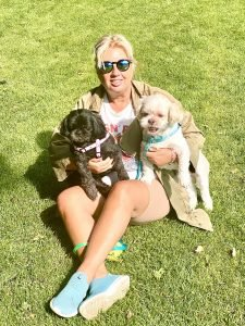 With my babes - Betsy and Olliepop